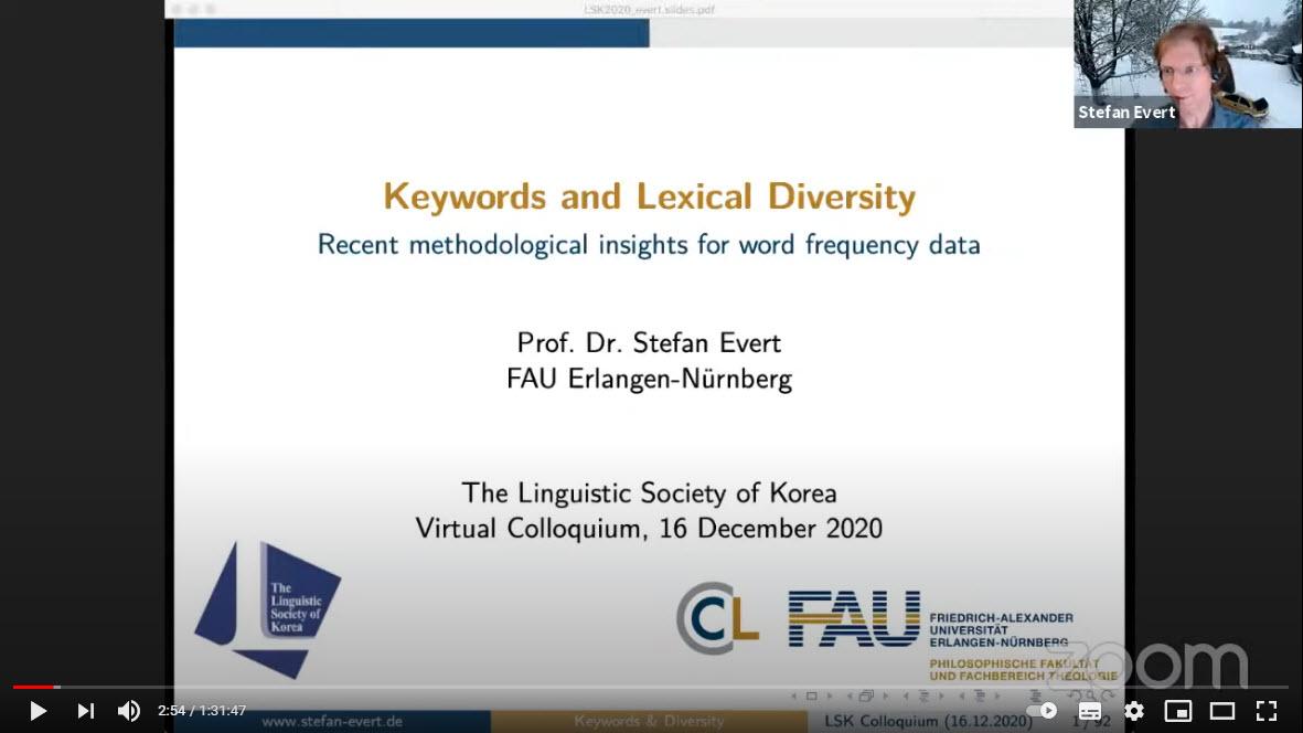 2020 LSK Virtual Colloquium